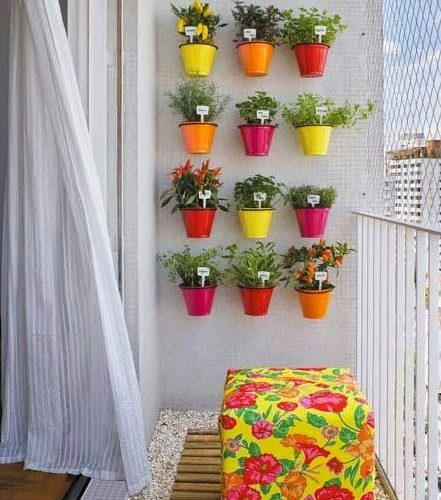 Beautiful Balcony Decoration