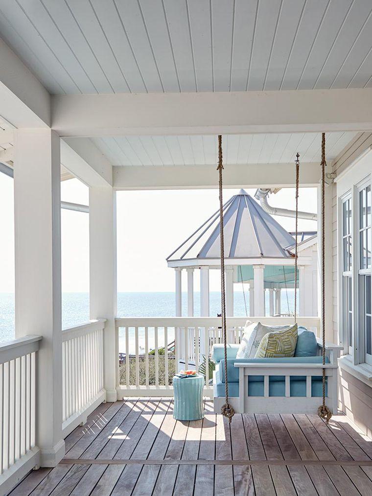 banktan balkon salıncağı
