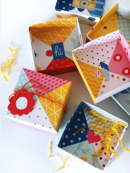 origami bayram şekerliği