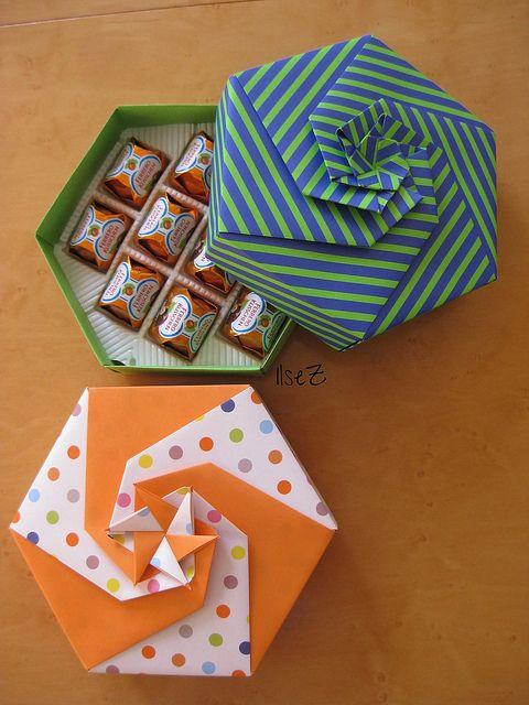 origami şekerlik yapımı