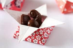 origami yıldız kutu yapımı