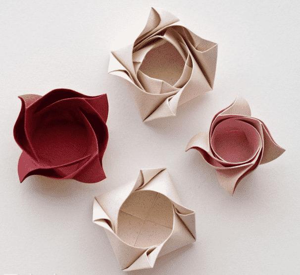 origamiden şekerlik nasıl yapılır