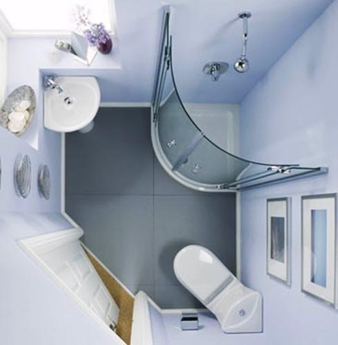 Dar Banyolar için Dekorasyon Fikirleri