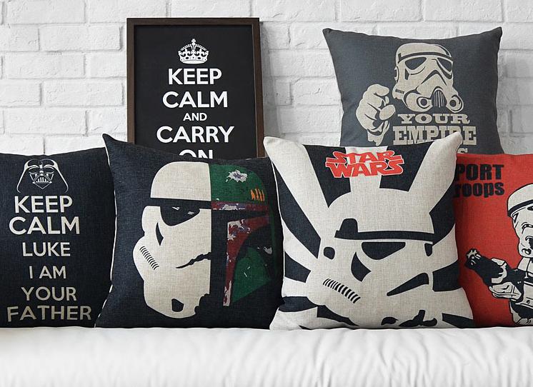 Star Wars Ürünleri ile Dekorasyonda Yıldız Savaşları