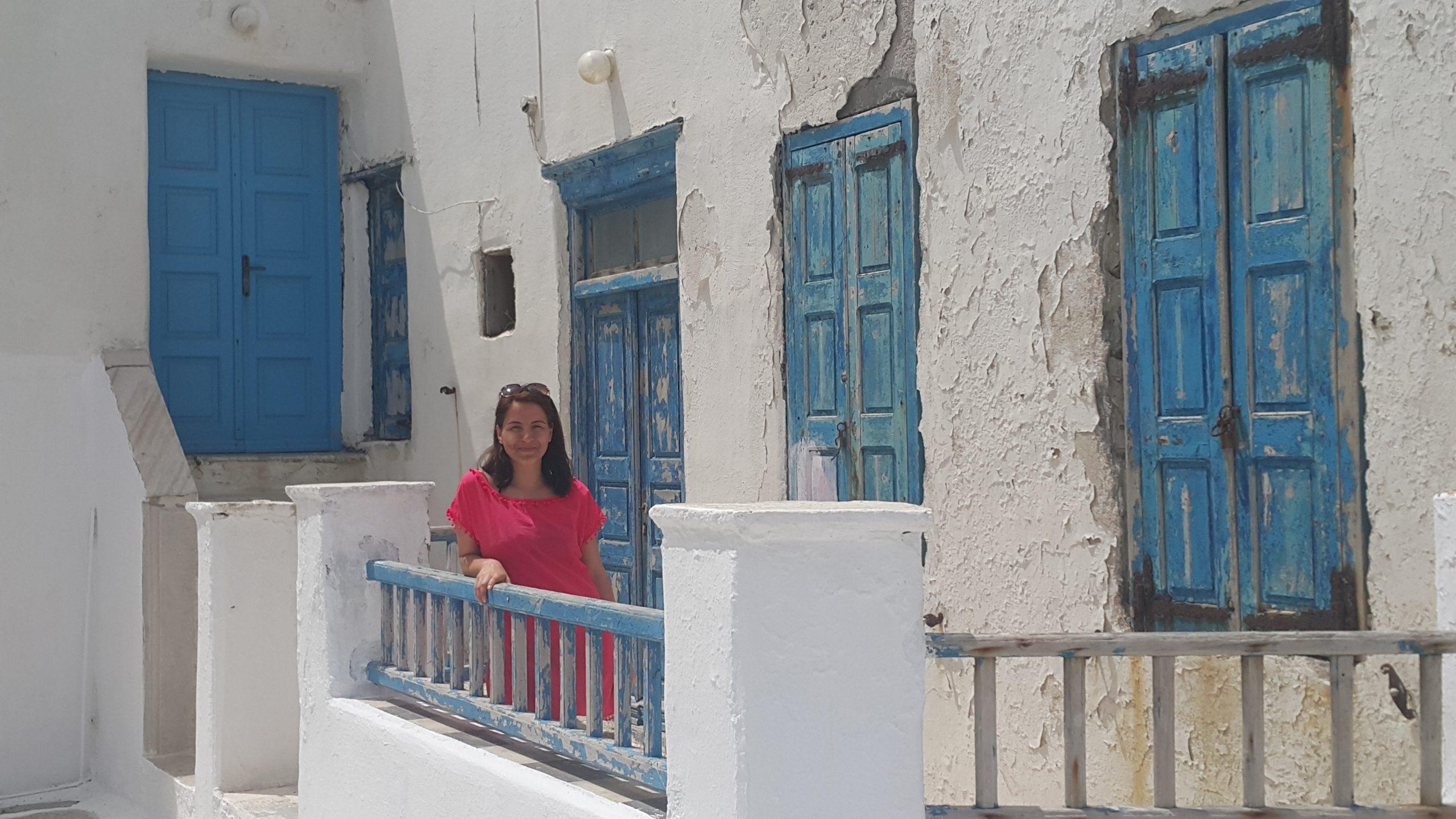 Mykonos Sokakları ve Beyaz Hatıralar