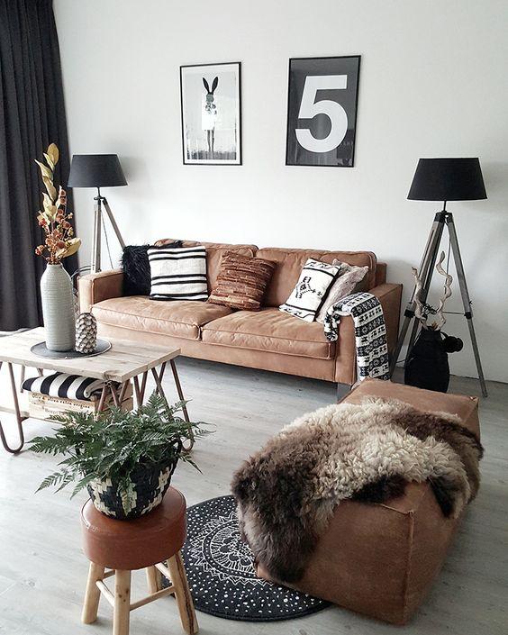 deri-koltuk-salon-dekorasyonu