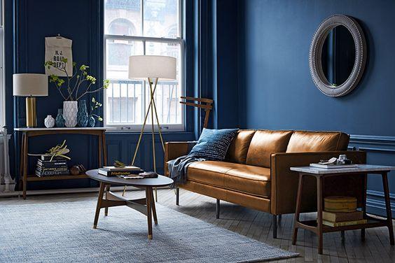 kahverengi-deri-koltuk-dekorasyon