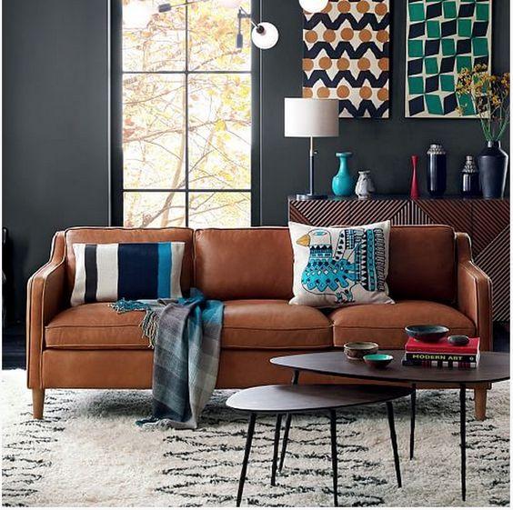 salon-dekorasyonu-deri-koltuk