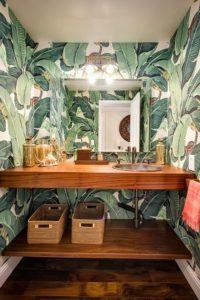 banyoda palmiye deseni