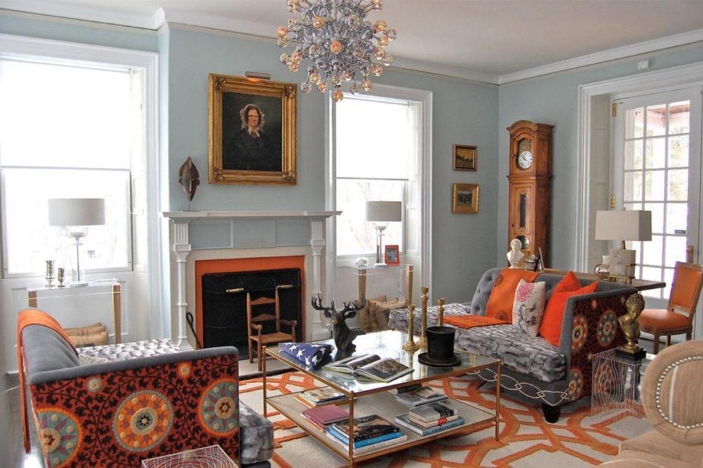 eklektik-salon-dekorasyonu