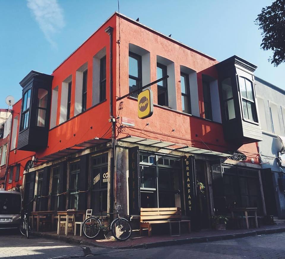 Balat'ta Bir Kafe: Pop's Balat
