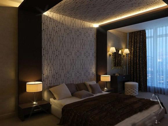 Asma Tavan Yatak Odası