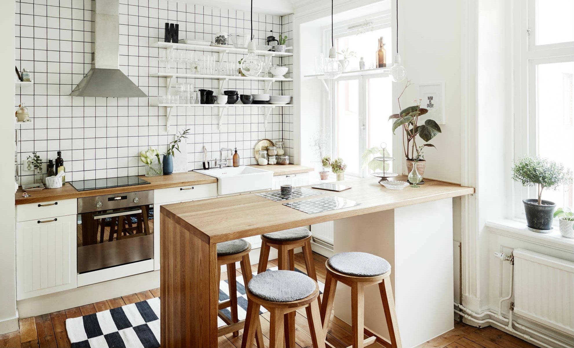 İskandinav Mutfak Dekorasyonu