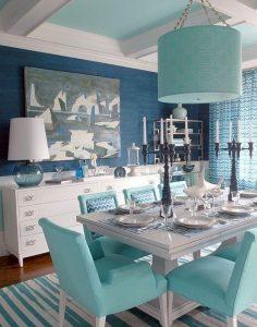 mavi dekorasyon fikirleri
