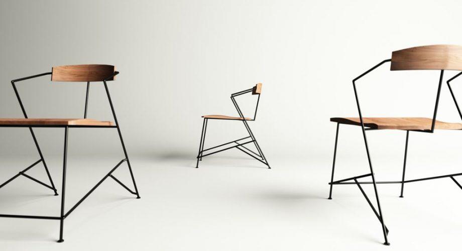 Minimalist Ferforje Sandalye Modelleri