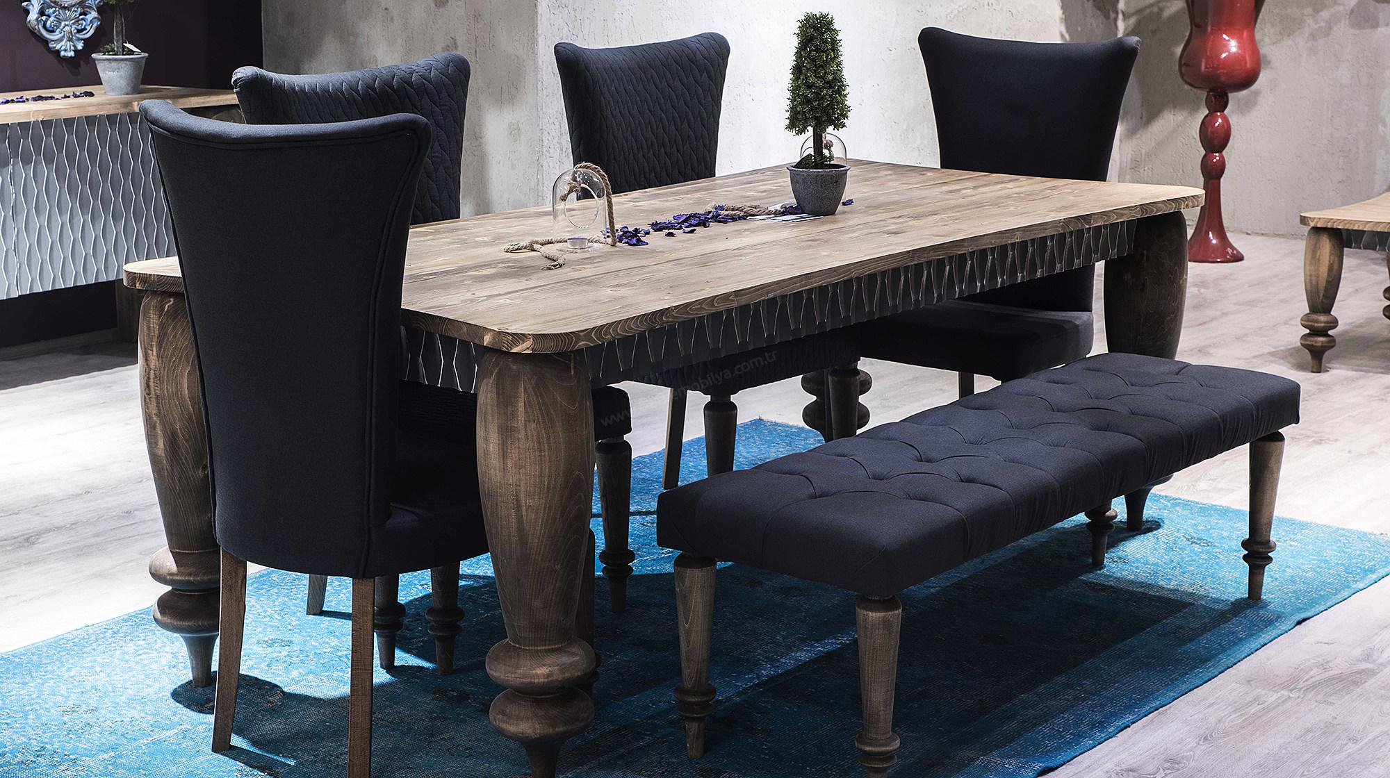 Yemek Odası Dekorasyonu için Farklı Masa Modelleri