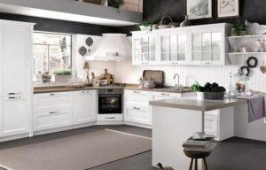 Geniş Mutfak Dekorasyonu