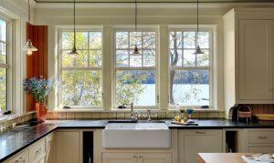 Mutfak Dekorasyonu Pencereler