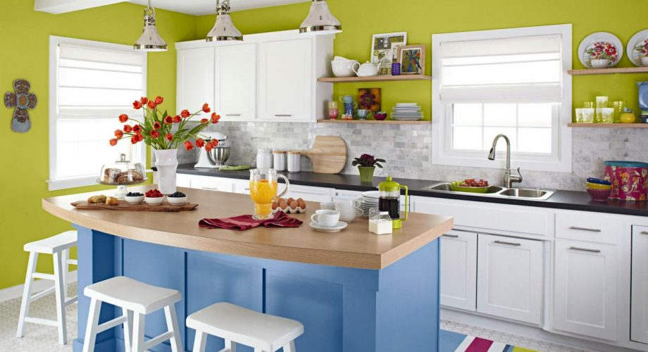 Rengarenk Mutfak Dekorasyonu