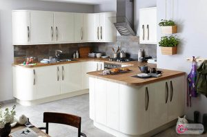 Tezgahlı Mutfak Dekorasyonu