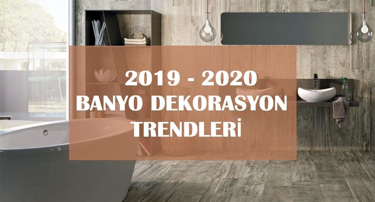 2019 2020 Banyo Trendleri: Banyo Modelleri ve Dekorasyon Fikirleri