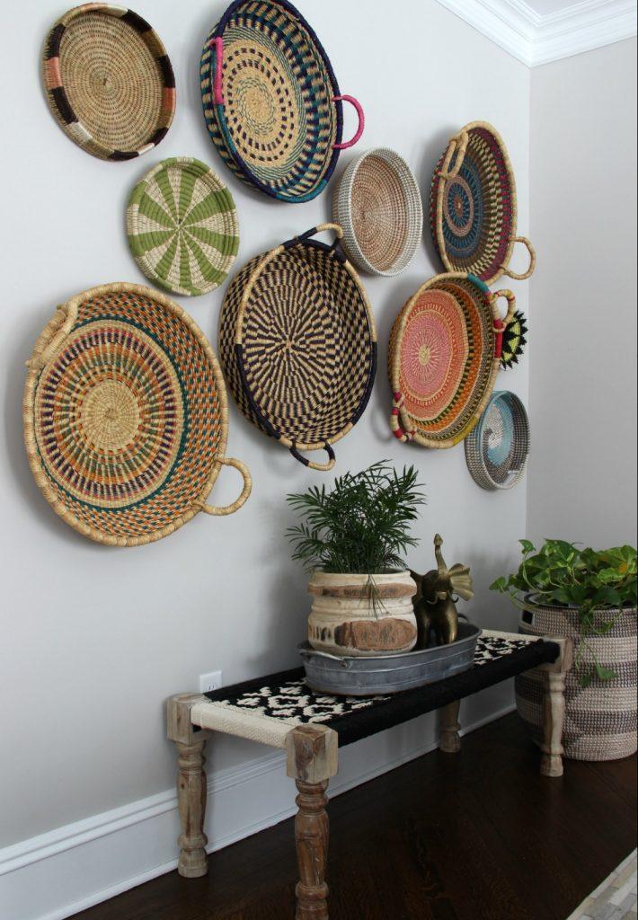Afrika duvar tabağı