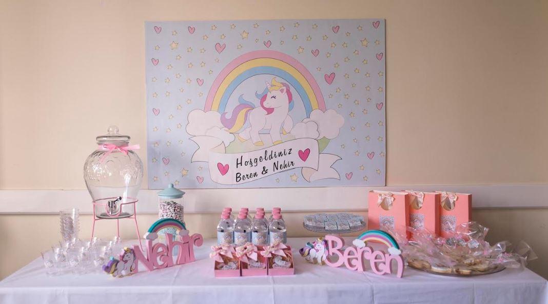 Hastane Odası Süsleme Fikirleri: Unicorn Doğum Odası Konsepti