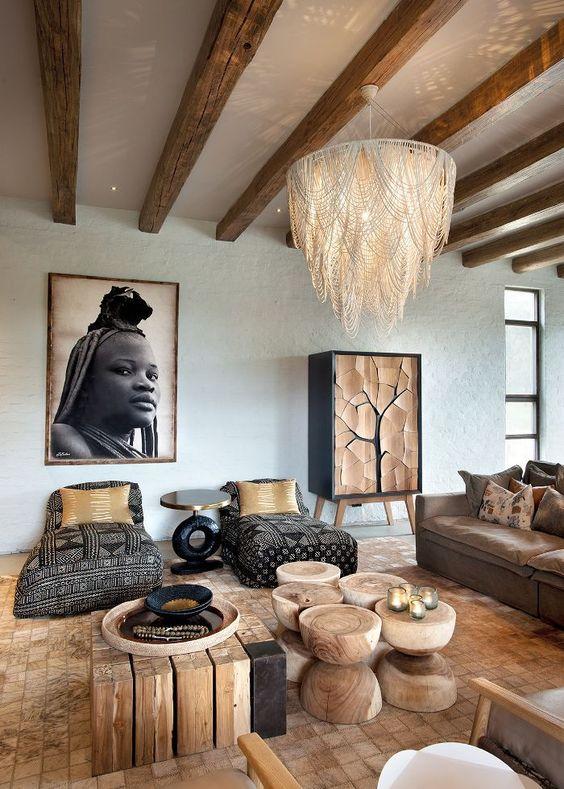 Afrika tarzı dekorasyon