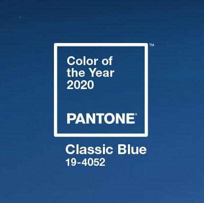Pantone classic blue