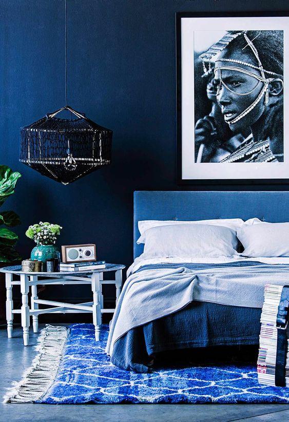 Dekorasyonda Pantone 2020 Rengi Classic Blue (Klasik Mavi)