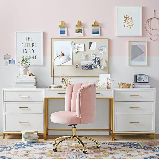Kadınlar İçin Home Ofis Dekorasyon Fikirleri