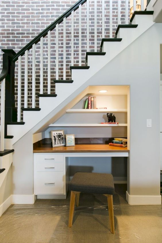 merdiven altı boşluğu değerlendirme 16