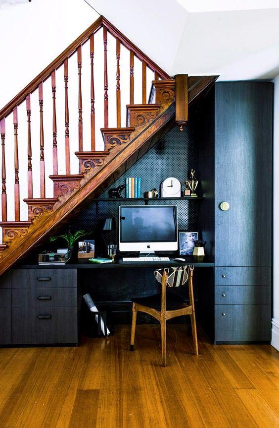 merdiven altı boşluğu değerlendirme 8