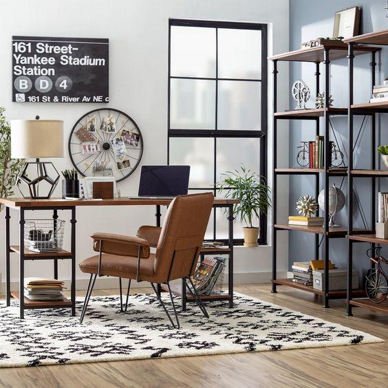 Erkekler İçin Home Ofis Dekorasyon Fikirleri
