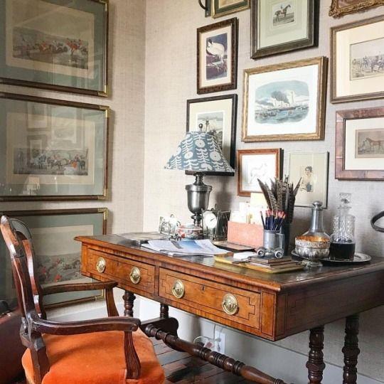 vintage home ofis fikirleri