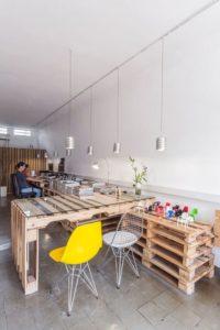 paletten ofis masası