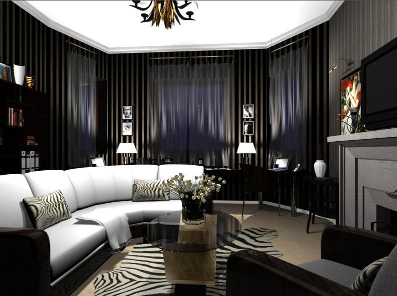 art deco ev dekorasyonu
