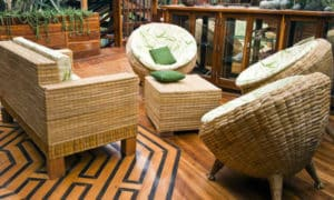 bambu balkon takımı