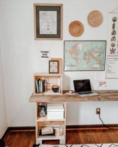 pazar kasasından çalışma masası
