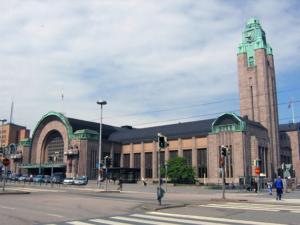 Art deco Helsinki Tren Garı