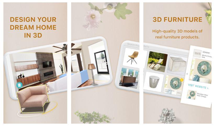 homestyler dekorasyon uygulaması