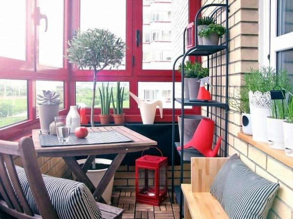 küçük balkon mobilya takımları