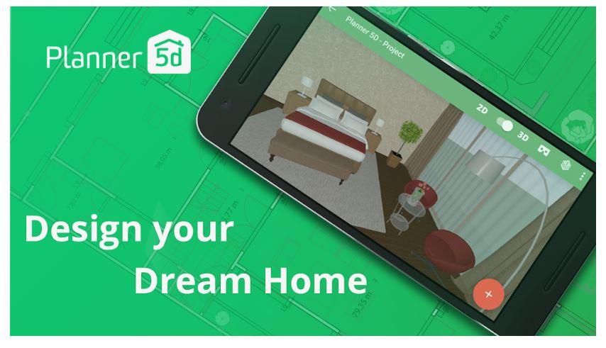 planner5d ev planlama uygulaması