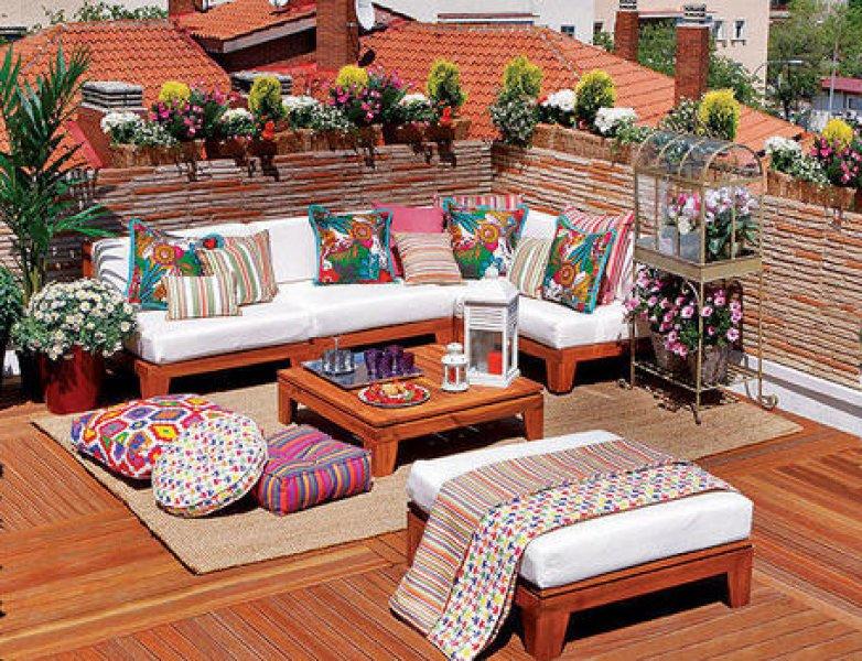 rengarenk çatı dekorasyonu önerileri