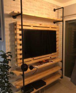 evde tv ünitesi yapımı