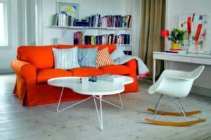 ikea turuncu koltuk modelleri