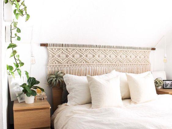 makromeden yatak başı yapımı