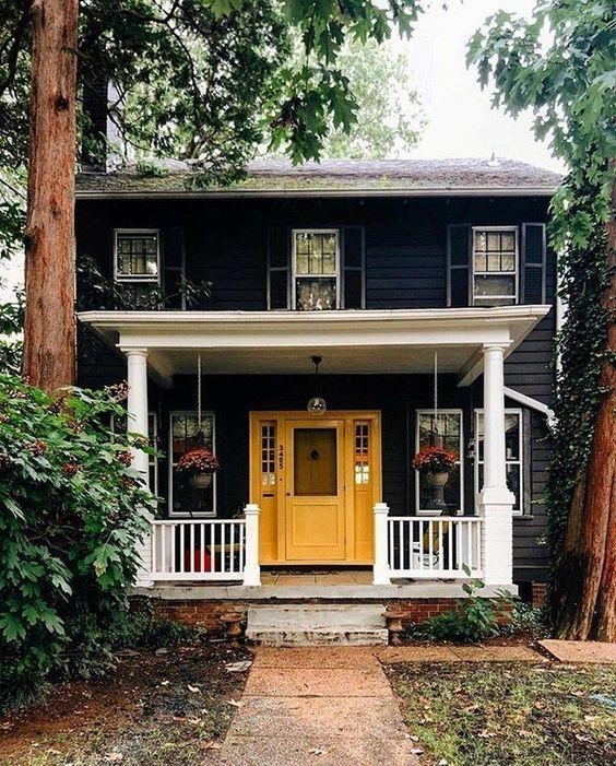 müstakil ev girişleri