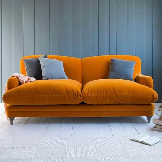 turuncu koltuk nasıl kombinlenir