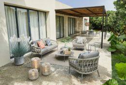 Snoc Outdoor Furniture Bahçe Masa Takımı ile Açık Alanlara Karakter Katın